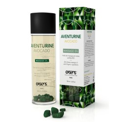 Huile de Massage BIO Anti-stress AVENTURINE AVOCAT