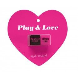 Dés Coquins - PLAY & LOVE