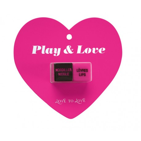 LOVE TO LOVE Dés Coquins PLAY & LOVE - La Clef des Charmes, loveshop, sextoys, lingerie sexy, érotique, Toulouse