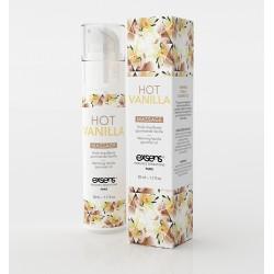 Exsens Gel Massage Chauffant Gourmand Vanille. La Clef des Charmes Toulouse