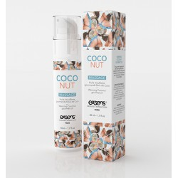 Gel de Massage Chauffant Gourmand - Coconut