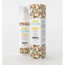Exsens Gel Massage Chauffant Gourmand Pina Colada. La Clef des Charmes Toulouse