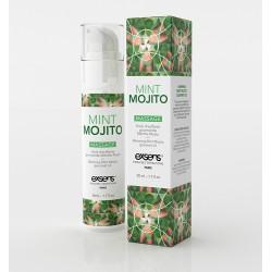 Exsens Gel Massage Chauffant Gourmand Mojito. La Clef des Charmes Toulouse