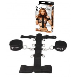 Harnais de Bondage - Adjustable Neck & Wristraint Set 3pcs