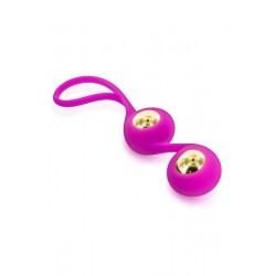 Glamy GOLD LOVE BALLS ANAL Boules de Geisha. La Clef des Charmes