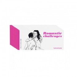 LOVE TO LOVE Chéquier Coquin ROMANTIC CHALLENGES. La Clef des Charmes.
