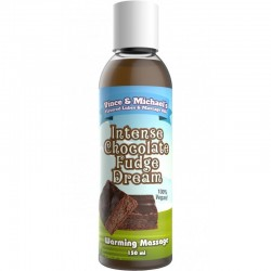 Vince & Michael's Flavored Hot Massage Oil Intense Chocolate 50 ml