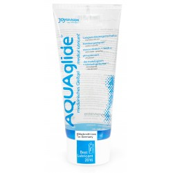 JOYDIVISION AQUAglide 200ml Water Based Lubricant La Clef des Charmes