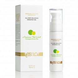 ALLOVER DELICIOUS MASSAGE GEL Pineapple Green Tea