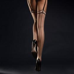 Fiore MADAME Bas Voile Nude Couture Noire 20D