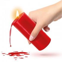 Bougie BDSM Basse Température Rouge - La Clef des Charmes