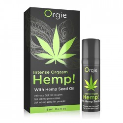 Orgie HEMP! Intense Orgasme Gel Excitation Cannabis