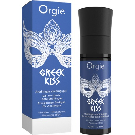 Orgie GREEK KISS Gel Excitant et Anulingus