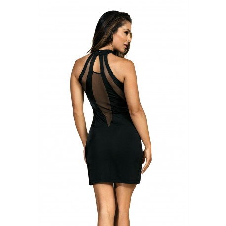 QUEEN OF THE NIGHT Robe Sexy Noire V-9269