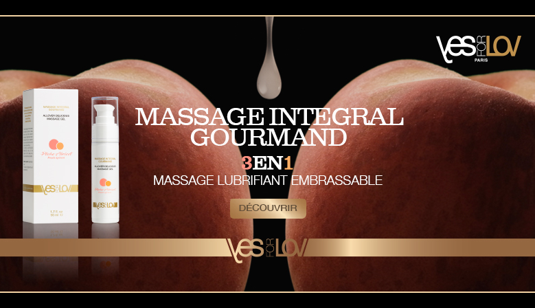 Massage Lubrifiant gourmand YfL